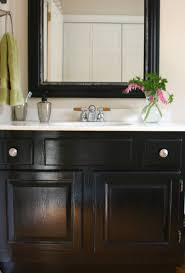 Hanging Bathroom Vanities by Painting Bathroom Vanity Black Nickel Faucet For This Bathroom Is