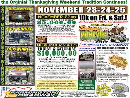 the date of thanksgiving 2014 farmington dragway