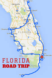 Map Of Clearwater Florida Uncover The Perfect Florida Road Trip