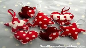 Christmas Decorations Diy by 50 Diy Felt Christmas Tree Ornaments Youtube