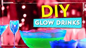 glow in the dark drink recipes youtube
