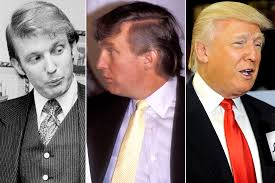 Hair Color To Look Younger An Illustrated History Of Donald Trump U0027s Hair Warning Don U0027t Read