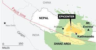 Tectonic Plate Map Nepal U0027s Earthquake Mapping Its Ripple Effect Across Asia