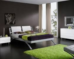 bedroom enchanting modern black and green perfect color bedroom