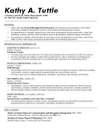 Best It Resume Sample by Examples Or Resumes Free Basic Resume Examples Resume Template