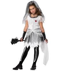 Kids Skeleton Halloween Costume by Bride Skeleton Kids Costume Bride Costumes