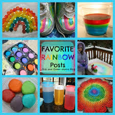 pink and green mama favorite rainbow themed activities crafts