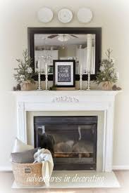 neo classical rectangle mirror over mantel decor fireplace mirrors