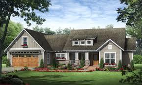 plan 51142mm craftsman cottage with shed dormer craftsman