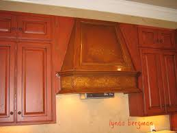 Antiqued Kitchen Cabinets by Lynda Bergman Decorative Artisan Kitchen Cabinets Hand Painted