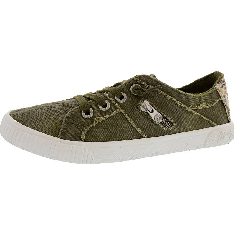 Blowfish Fruit Smoked 16Oz Canvas Diego Weave Ivy Green Ankle-High Sneaker 7.5M