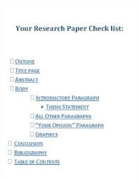 order research essay