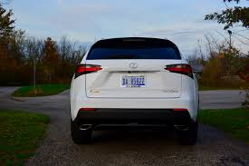 2016 lexus nx road test 2016 lexus nx 200t f sport review