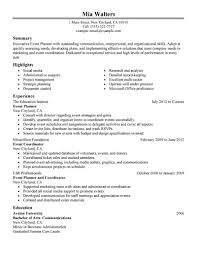 resume format template microsoft word sample resume event coordinator free resume example and writing event planner resume sample microsoft word tri fold brochure ticket format template