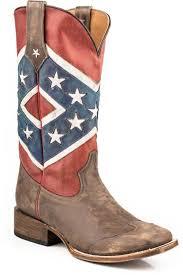 Rebel Flag Home Decor by Roper Men U0027s Rebel Flag Boots 920 7001 131