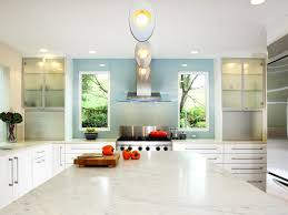 Glass Shelves Kitchen Cabinets Kitchen Inspiring Kitchen Countertops With Rainbow Color Glass