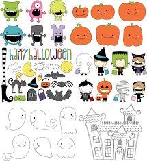 repeatable halloween background cute halloween theme vector free vector 4vector
