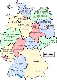 Map Germany by