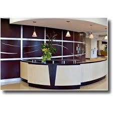 Office Furniture For Reception Area by Modern Reception Desk Design Ergonomic Office Chairs Polyvore