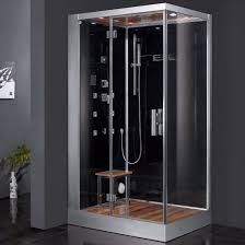 ariel platinum dz959f8 blk l steam shower left configuration 47 ariel platinum dz959f8 blk l steam shower left configuration 47 x 35 x 89 steam shower unit amazon com