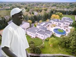 How Many Square Feet Is A 1 Car Garage Michael Jordan Lists Chicago Mansion Again Business Insider
