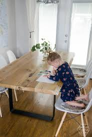 Best  Diy Dining Table Ideas On Pinterest Diy Table - Timber kitchen table