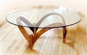 Bamboo Dining Room Furniture by Living Room Contemporary Glass Coffee Table Furniture Design