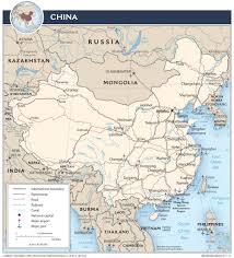 Map Of China Provinces China U2014 Central Intelligence Agency