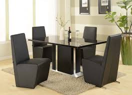 Bedroom Furniture Granite Top Contemporary Dining Room Furniture Sleek And Simple With Dining