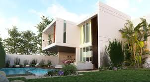 House 3d Model Free Download by Free 3d Model Modern House With Pool By Byron Galvez Render
