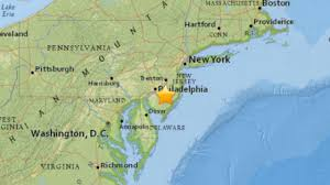 New York Map Us by Nyc Didn U0027t Experience An Earthquake Officials Say Am New York