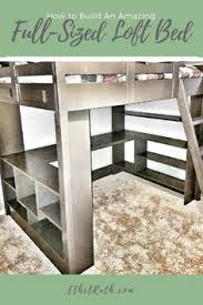 diy kids bunk bed free plans bunk bed lofts and camping