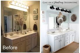 Coastal Bathroom Decor Bathroom Master Bathroom Vanity Decorating Ideas Beadboard