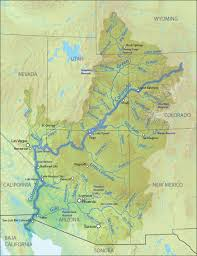 South America River Map by Colorado River American Rivers