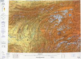 Pakistan On The Map Afghanistan Aeronautical Charts Perry Castañeda Map Collection
