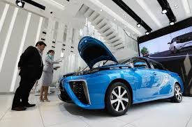 toyota motor car futuristic hydrogen cars come with a curfew u2014 for now the japan