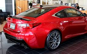 lexus rc red interior first carbon fibre performance package seen today