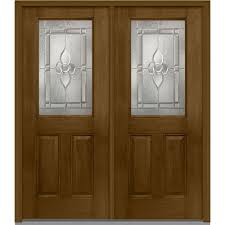 stained front doors exterior doors the home depot