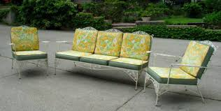Cast Iron Patio Set Table Chairs Garden Furniture - patio outstanding metal patio tables used wrought iron patio