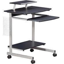 Computer Desks Black by Mobile And Compact Complete Computer Workstation Desk Office