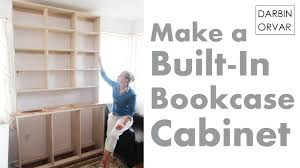 built in bookcases u0026 cabinet construction youtube