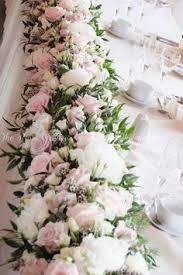 Table Flower Arrangements Blush Pink And Ivory Ceremony Table Arrangement At The Mere Resort