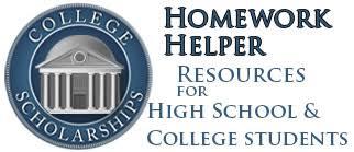 Homework Helper  for Free Online Homework Help College Scholarships high school homework helpers