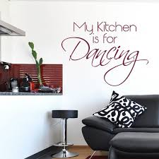 my kitchen is for dancing quote wall sticker world of wall stickers the product is already in the wishlist browse wishlist my kitchen is for dancing quote wall sticker