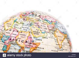 Map Of Mali Africa by Part Of A Globe With Map Of Africa And Saudi Arabia Isolated On