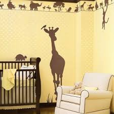 Baby Room Wall Murals by Bedroom Surprising Yellow Baby Nursery Room Decoration Using