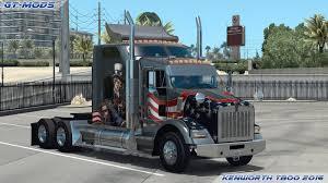 kenworth truck models gt mods kenworth t800 2016 v0 2 5 american truck simulator mods