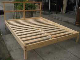 bed frames diy king platform bed bed frames with storage plans