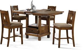 Patio Furniture Counter Height Table Sets - dining room 5 piece dining set with counter height style with