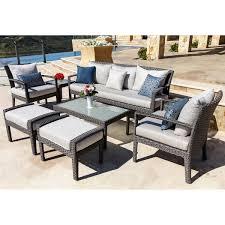 Polyethylene Patio Furniture by Gray Patio Furniture Costco
